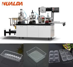 China Vacuum Forming Food Container Making Machine For Mini Cake / Chocolate on sale