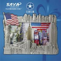 China Creative metal souvenir New york picture frame/photo frame on sale