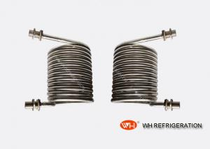 Quality Échangeur de chaleur de bobine d'immersion pour le transfert de chaleur, bobine de condensateur d'acier inoxydable for sale