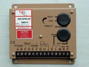 China Fast Generator Governor Speed Control ESD5100 Series 10 Amps Continuous Current on sale
