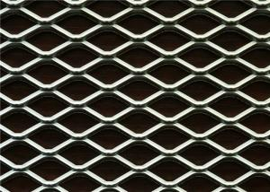 China Expanded Steel Mesh Sheets / Expanded Aluminum Mesh With 9 Gauge Thickness on sale