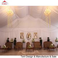 Economical Wedding Party Tent With Decoration Double Or Single Swings Glass Door