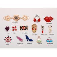 Women Decorative Colored Alloy Jeweled Bra Accessories Pendant