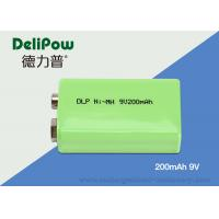 6F22 High Capacity 9v Rechargeable Battery For Emergency Light
