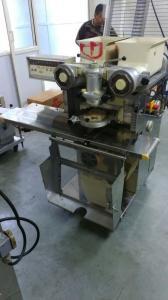 China Plastic Hopper Dough Encrusting Machine for Mochi Pie Bread Production Line , Pastry Machine on sale