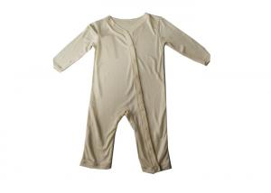 China 100% Silk Kids Knitwear Kids Body Suit Natural Fibre Special Neck Design on sale