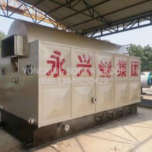 China Straw Ricehusk Biomass Steam Generator 1600 Kg H In Alcohol Factory on sale