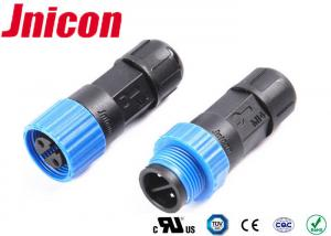 China Male 2 Pin IP68 Female Plug Connector 0.3 - 1.5mm2 Cable Range Long Lifetime on sale