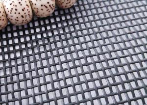China Black / Charcoal Plain Weave Pet Proof Window Screen 14x16 Mesh on sale