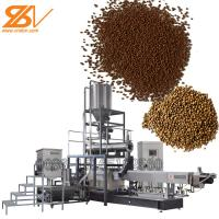 Flowing, slow sinking, sinking Fish feed making machine
