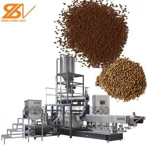 China Flowing, slow sinking, sinking Fish feed making machine on sale