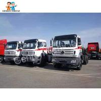 China Left Hand Driving 6×6 380hp Tractor Prime Mover Truck Head on sale