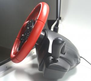 China 4 in 1 sensitivity adjustment 360 steering wheel on sale