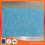 light blue color mix Textilene material mesh fabric 4X4 woven fabrics