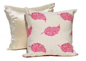Quality Embroidered Decorative Cushion Covers 100% Cotton Couch Throw Pillows for sale