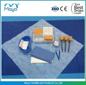 China Medical Dressing Pack with Disposable Sterile Surgical Wound Dressing Kit on sale