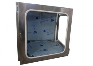 China Bright Surface Cleanroom Pass Box For Aseptic Packaging / Microelectronics on sale