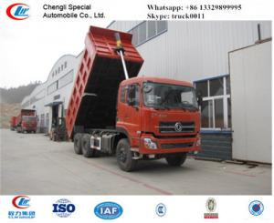 China hot sale dongfeng 30tons dalishen sand and coal transported vehicle, best price dongfeng 40tons dump tipper truck on sale