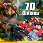 Cinema surpreendente 6 do jogo 7D do tiro/8 assentos com áudio de 5,1 canais