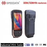 IP65  Bluetooth Wireless Barcode Scanner With Multi Point Touch Capacitive Screen