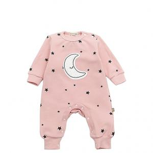 China 100% Cotton Infant Baby Clothes Casual Long Sleeve Pajamas 3 6 9 12 Months on sale