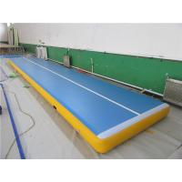 SGS Korean Drop Stitch Inflatable Air Track For Tumbling Custom Logo Available