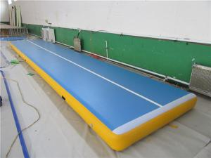 China Commercial Air Gym Mat , Inflatable Gymnastics Equipment Tumble Track on sale