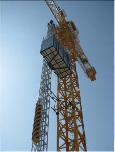 China 230 Meter Construction Hoist Elevator With 1.5 Ton Loading Capacity 33m/Min Hoisting Speed on sale