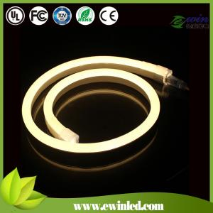 China LED high quality Neon flex 220V SMD2835 Colorful IP68 Waterproof rope string lamp + EU Power plug on sale