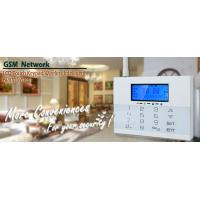 LCD Icons Touch Keypad House GSM PSTN Burglar Alarm Systems with Wireless Flash Siren