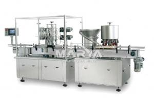 China Automatic oral liquid and Syrup filling and capping production line on sale