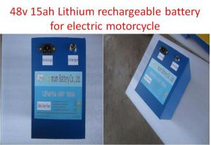 China Energy Storage Optimum Motorcycle Lithium Battery High Voltage 48v 15ah on sale
