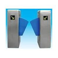 Automate security gate flap barrier with IC, ID access control for exhibition hall