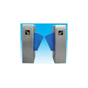 China Automate security gate flap barrier with IC, ID access control for exhibition hall on sale