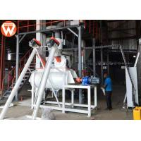 China 1.5 - 2.5 T/H Animal Farm Poultry Feed Plant Machinery 50kw High Efficiency on sale