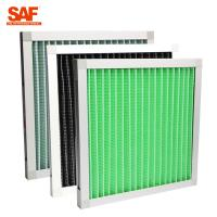 Primary Filtration Mini Pleat  Pre Air Filter For Air Conditioning System