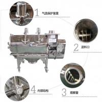 China 1-5 layers High Frequency Linear vibrating sieve separator machine for soybean on sale