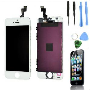 China Replacement LCD Touch Screen Digitizer Glass Assembly OEM for iPhone 5s White on sale