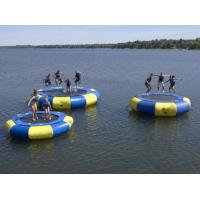 Inflatable water trampoline float inflatable floating water trampoline