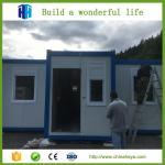 HEYA hot sale eps or rockwool panel container camp house prefab house