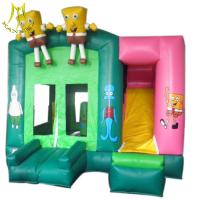 Hansel  amusement playground Inflatables bouncer stander for child christmas kids outdoor games