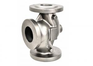China Cast Steel Components Silica Sol Investment Valve Body Casting Parts on sale