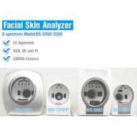 UV Spectrum Salon 3D Facial Skin Analyzer Machine With Canon Camera 8800 Lux