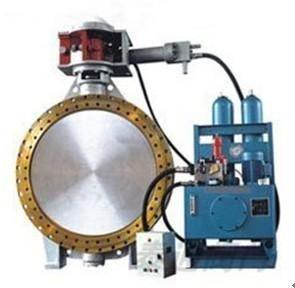China Long Pattern Hydraulic Butterfly Check Valve Made By ASTM A216 GR WCB,PN16 on sale