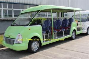 China Fashion 14 Person Electric Tourist Car Max Forward Speed 30km/H For Hotel on sale