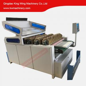 China Curve panel wood frame door cabinet sanding machine with brush sanding rollers on sale