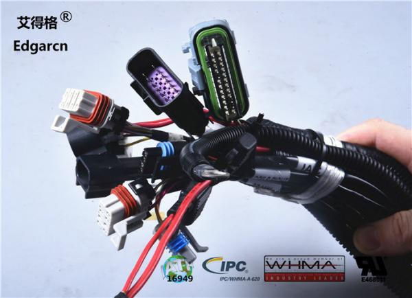 Customized Universal Automotive Wiring Harness With Whma / Ipc620 Ul on universal miller by sperian harness, universal fuel rail, universal air filter, lightweight safety harness, construction harness, universal equipment harness, stihl universal harness, universal fuse box, universal steering column, universal heater core, universal radio harness, universal ignition module, universal battery,
