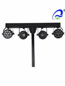China Kaleidoscope High Power LED Par Light 2 * 12 Pcs * 1W For Medium Live Concerts on sale