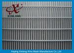 Anti Climb Mesh Fence / Galvanized Walkway School Security Fencing