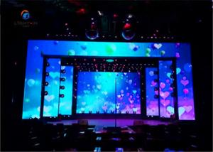 Quality Full Color Stage Board 500x500mm cabinet P3.91 Indoor LED Screen for sale